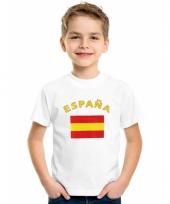 Spaanse vlaggen t-shirts voor kinderen