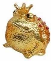 Spaapot kikker prins goud 18 cm 10095917
