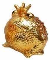 Spaapot kikker prins goud 18 cm 10095918