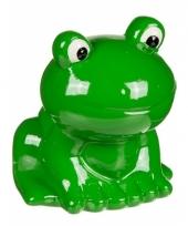 Spaarpot groen kikkertje 8 cm