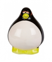 Spaarpot pinguin thema 12 cm