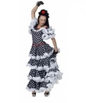Spanje flamenco danseres jurk