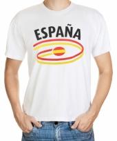 Spanje vlaggen t-shirts voor heren