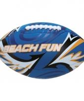 Speel zachte rugbybal blauw