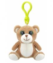 Speelgoed beer sleutelhanger 9 cm
