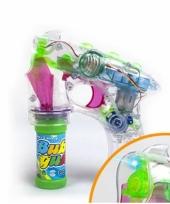 Speelgoed bellenblaaspistool met licht en geluid