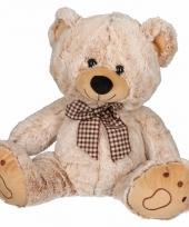 Speelgoed beren knuffel creme 32 cm