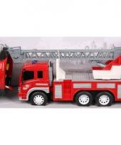 Speelgoed brandweerwagen 27 cm