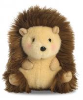 Speelgoed egel knuffel 12 cm
