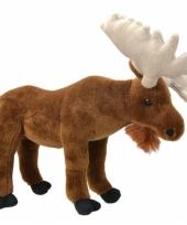 Speelgoed eland knuffel 30 cm