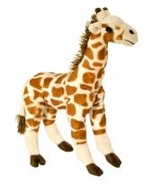 Speelgoed giraf knuffel 35 cm