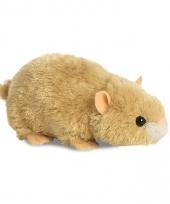 Speelgoed hamster knuffel 20 cm