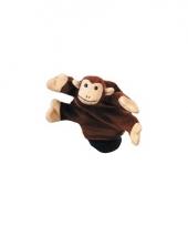 Speelgoed handpop aapjes 22 cm