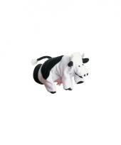 Speelgoed handpop koetje 22 cm