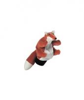 Speelgoed handpop vosje 22 cm