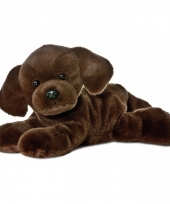 Speelgoed honden knuffel labrador 20 cm