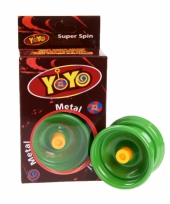 Speelgoed jojo groen
