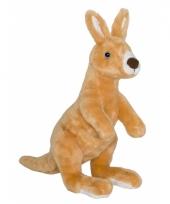 Speelgoed kangoeroe knuffel 34 cm