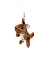 Speelgoed kangoeroe sleutelhanger 15 cm