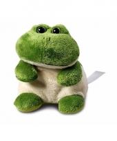 Speelgoed kikker knuffel 11 cm
