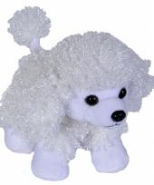 Speelgoed knuffel poedel 18 cm