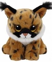 Speelgoed knuffeldier lynx ty classic larry 33 cm