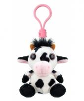 Speelgoed koe sleutelhanger 9 cm