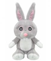 Speelgoed konijn knuffel 24 cm
