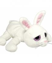Speelgoed konijn knuffel 27 cm