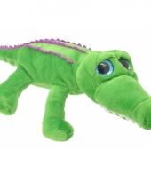 Speelgoed krokodil knuffel 36 cm