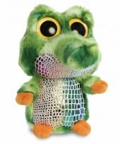 Speelgoed krokodillen knuffel 20 cm