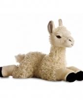 Speelgoed lama knuffel 30 cm