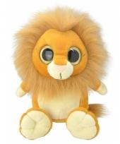 Speelgoed leeuw knuffel 18 cm