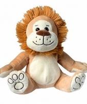 Speelgoed leeuw knuffel 21 cm