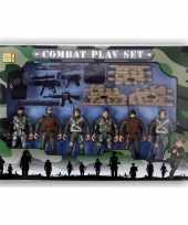 Speelgoed leger soldaten setje voor jongens