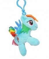 Speelgoed my little pony knuffel rainbow dash 8 cm