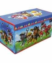 Speelgoed opruimbox paw patrol 76 cm