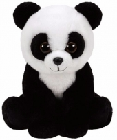 Speelgoed pandabeertje knuffel ty classic baboo 15 cm