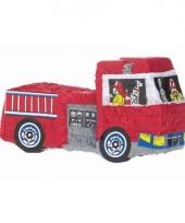 Speelgoed pinata brandweerwagen 48 cm