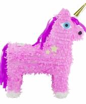 Speelgoed pinata roze eenhoorn