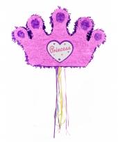 Speelgoed pinata roze tiara