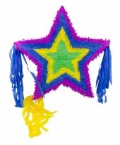 Speelgoed pinata ster kleur 57 cm