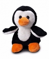 Speelgoed pinguin knuffel 12 cm