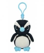 Speelgoed pinguin sleutelhanger 9 cm