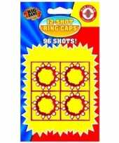 Speelgoed pistool plaffertjes 12 shoten