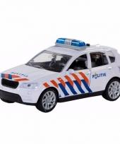 Speelgoed politie wagen met sirene
