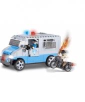 Speelgoed politieauto bouwstenen set 10076018