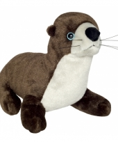 Speelgoed rivierotter knuffel 33 cm
