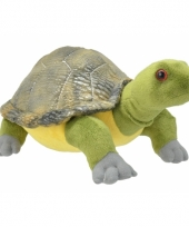 Speelgoed schildpad knuffel 28 cm