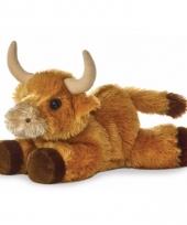 Speelgoed stier koe knuffel 20 cm